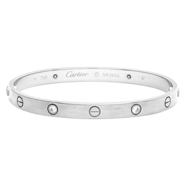 Cartier Love Bracelet With 4 Diamonds