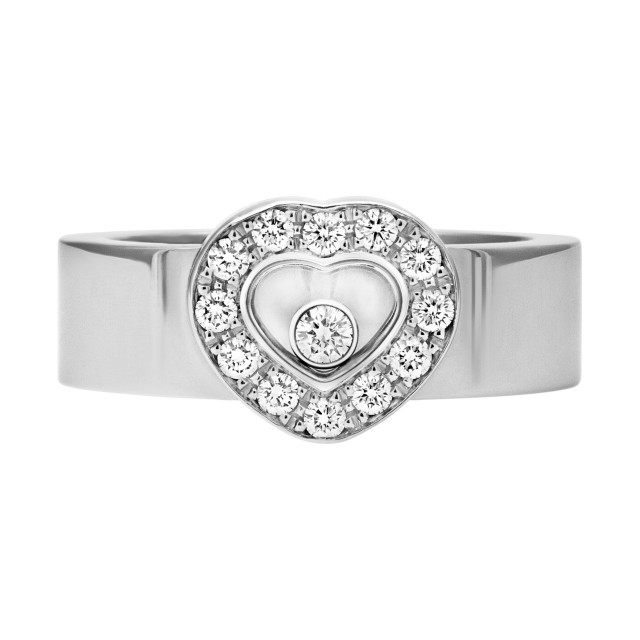 5632bc13d Chopard Happy Diamonds heart ring | Gray & Sons Jewelers