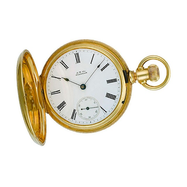 Waltham pocket watch 48mm image 1