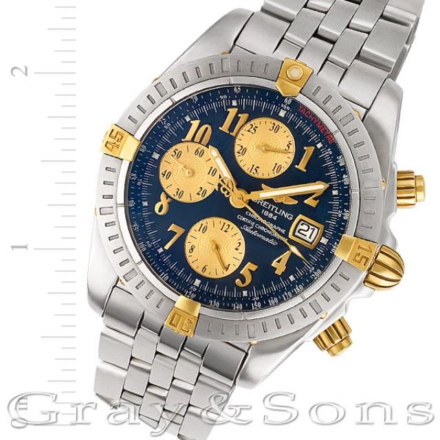 new style c0fef 5c1e8 Breitling Chronomat Evolution 45mm b13356