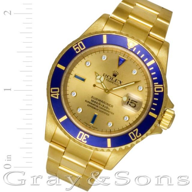 Rolex Submariner 16618 image 1
