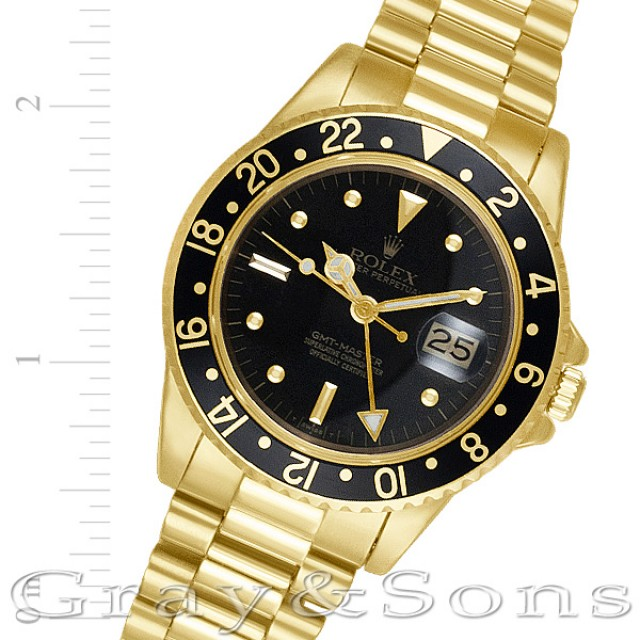 Rolex GMT-Master 40mm 16758 image 1