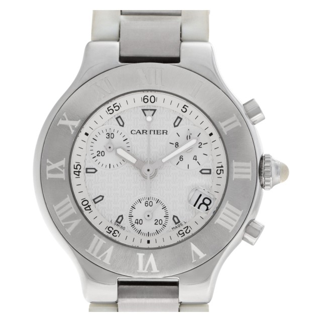 Cartier Chronoscaph 21 38mm W10184U2 image 1