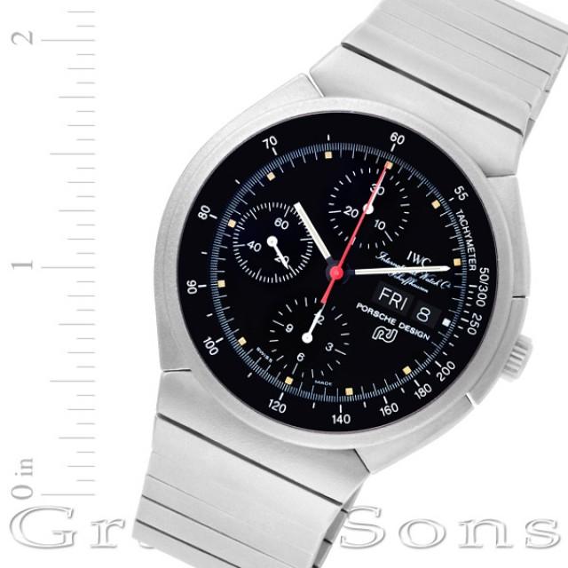 IWC Porsche Design Chronograph 42mm 3700 image 1