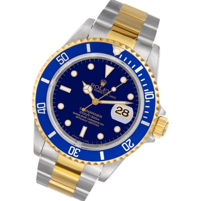 Pre-Owned Rolex Submariner 16613 T image 1