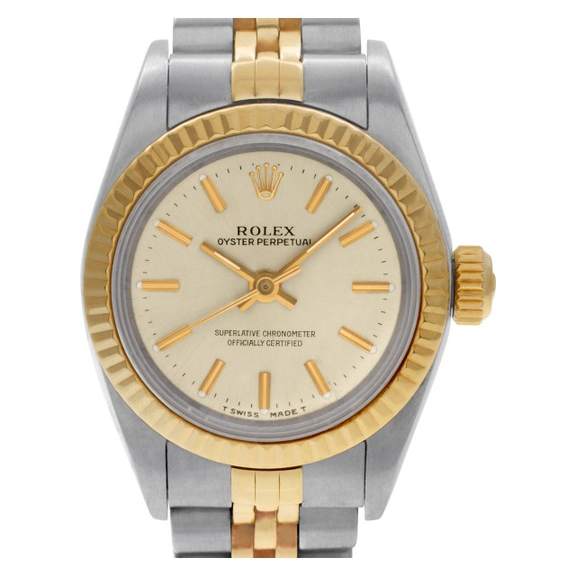 Ladies Rolex Oyster Perpetual 24mm 67193 image 1
