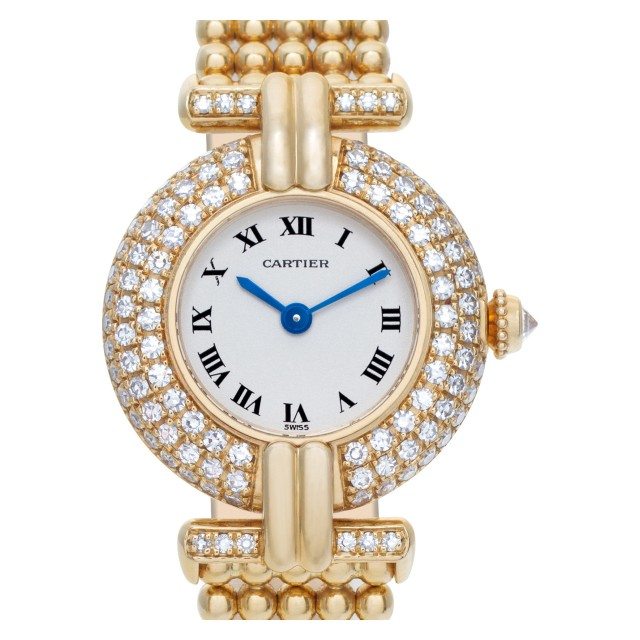 Ladies Cartier Colisee 24mm 1980 image 1