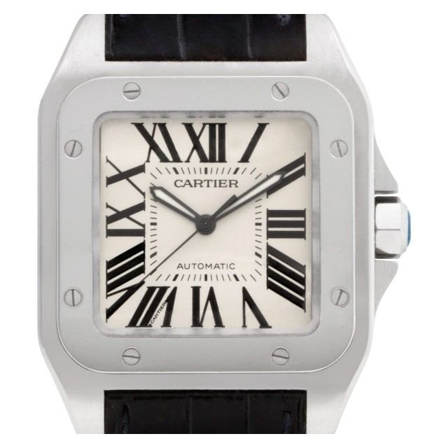 Cartier Santos 100 38mm W20073X8 image 1