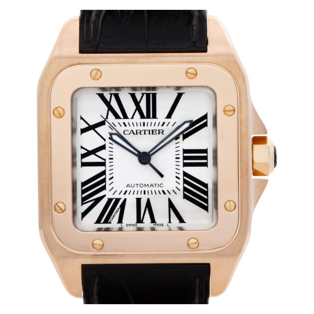 Cartier Santos 100 38mm W20095Y1 image 1