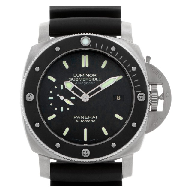 "Panerai Submersible ""1950 Amagnetic 3 Days Titanio"" 47mm PAM00389 image 1"