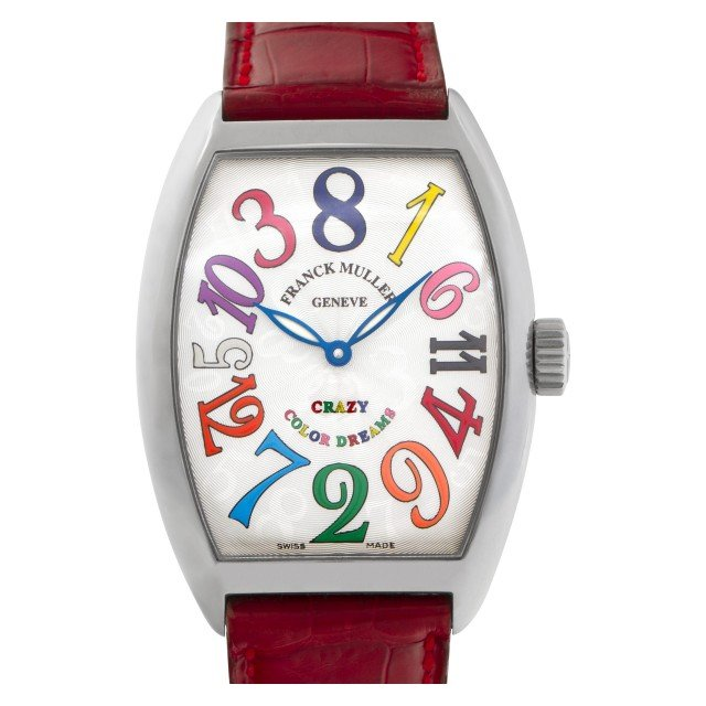 "Franck Muller Crazy Hour ""Color Dreams"" 35mm 7851 CH image 1"