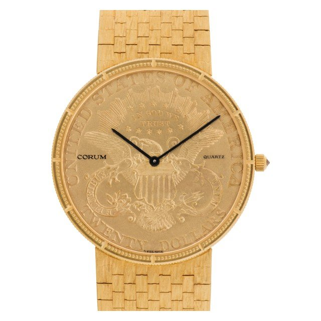 Corum gold coin 35mm image 1