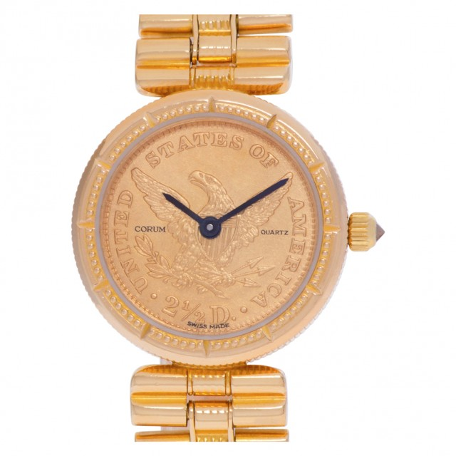 Corum $2.50 gold coin 21mm image 1