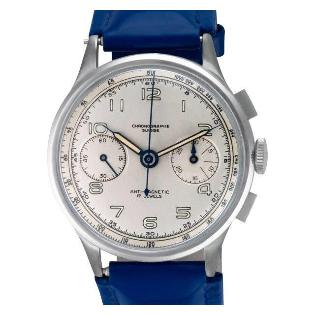 Swiss made Chronograph 35mm image 1