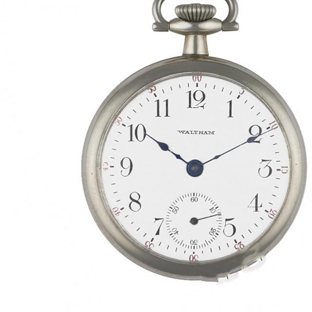 Waltham pocket watch image 1