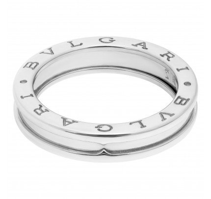 Bvlgari Bvlgari B.Zero1 ring in 18k white gold