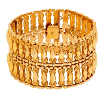 """Etruscan Revival"" bracelet in 18k"