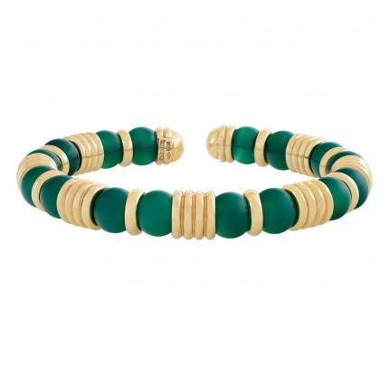 Caprice jade bracelet in 18k