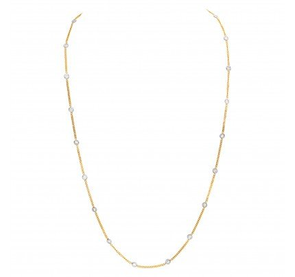Diamonds by the yard 14k yellow gold 1.83 carats