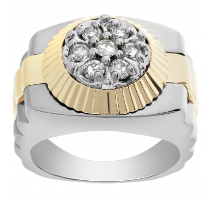 President slyle diamond ring in 14k