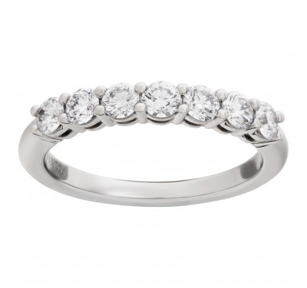 """Tiffany & Co. """"Embrace"""" band ring in platinum"""