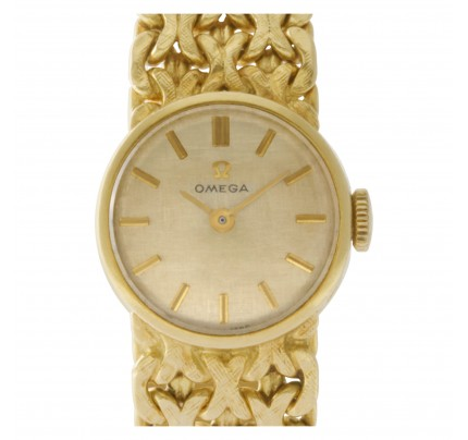 Ladies Omega 17mm 7173