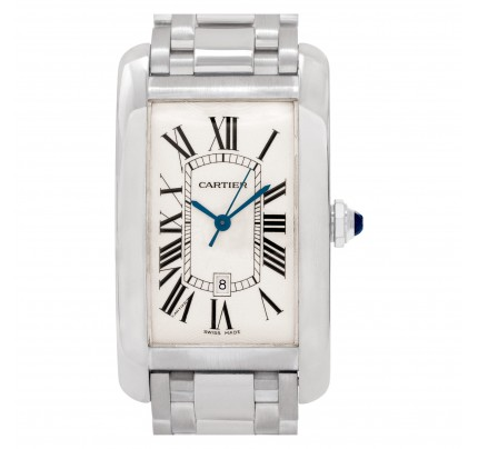 Cartier Americaine Tank 26mm W2605511