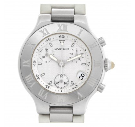 Cartier Chronoscaph 21 38mm w10184U2