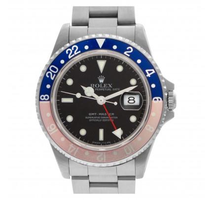 """Rolex GMT-Master """"Pepsi"""" 40mm 16700"""