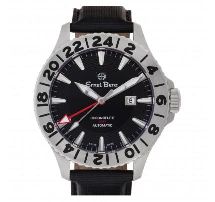 Unused Ernst Benz Chronoflite GMT 47mm 10500