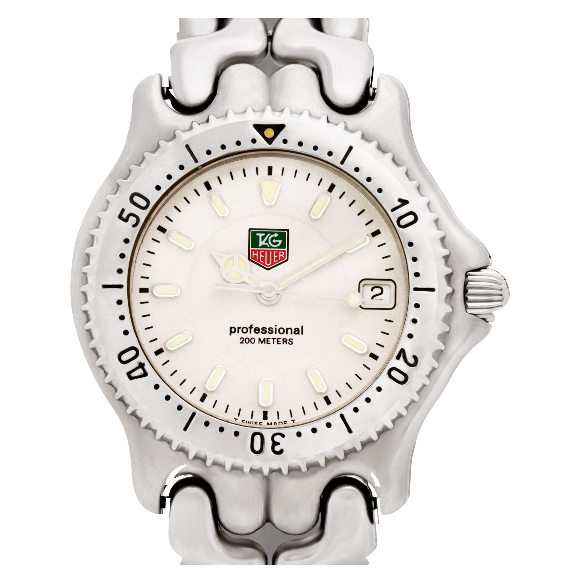 Pre owned Tag Heuer Professional WG1112 KO W