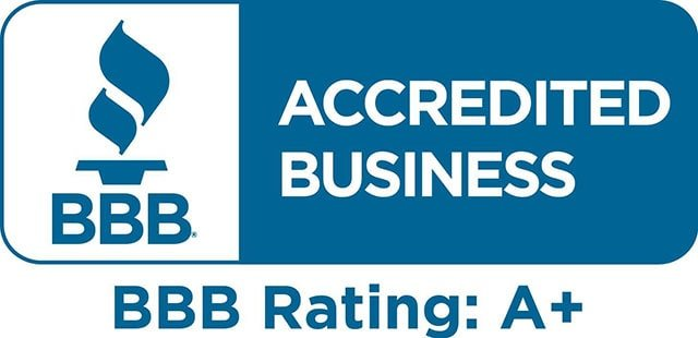 Better Business Bureau Accredited Business - Rating A+