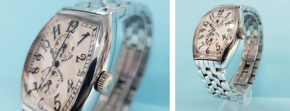 Fixed crystal Franck Muller crystal replacement