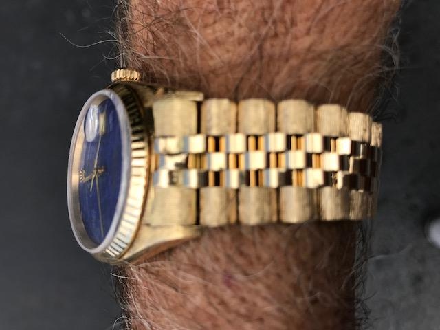 Rolex client bracelet restoration