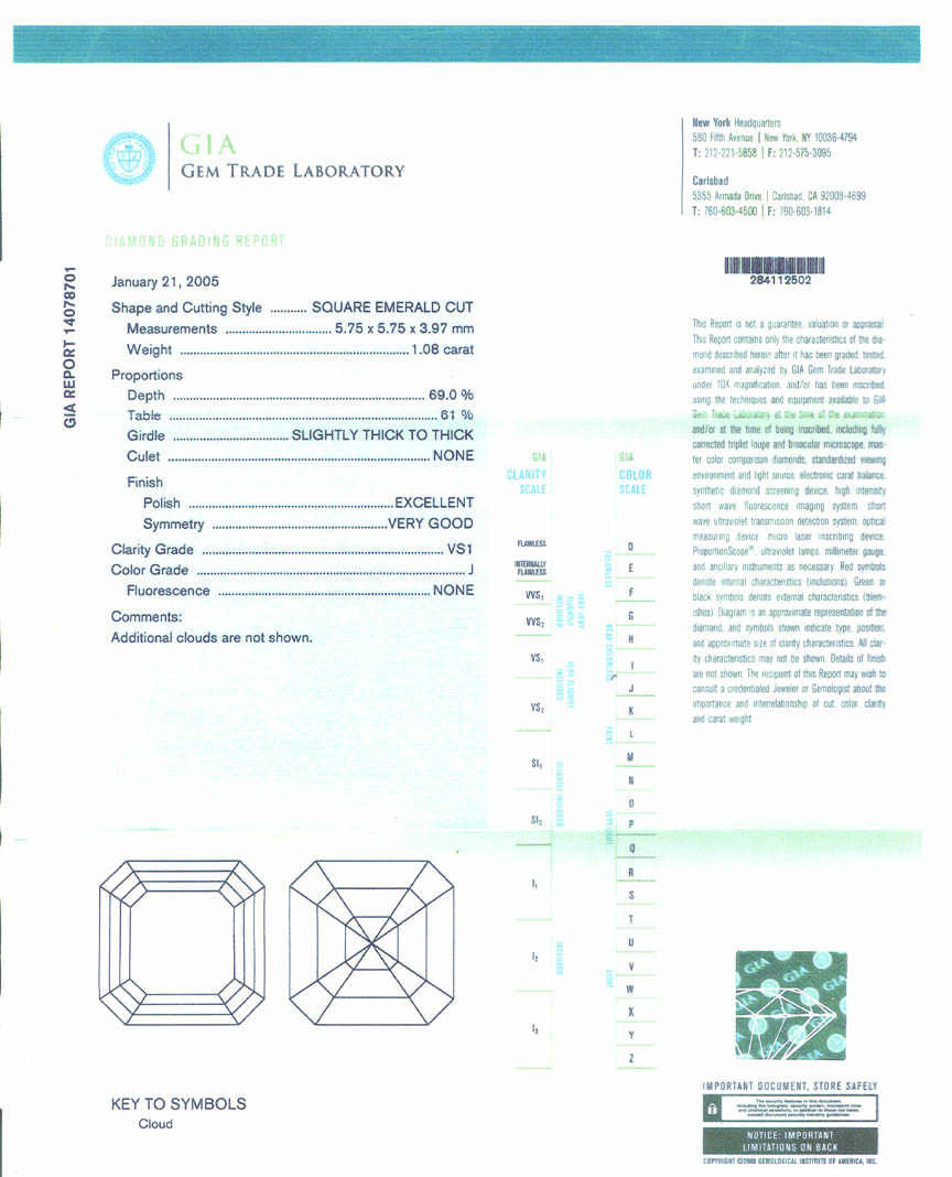 Gia Certified Loose Diamonds Gray Amp Sons Jewelers