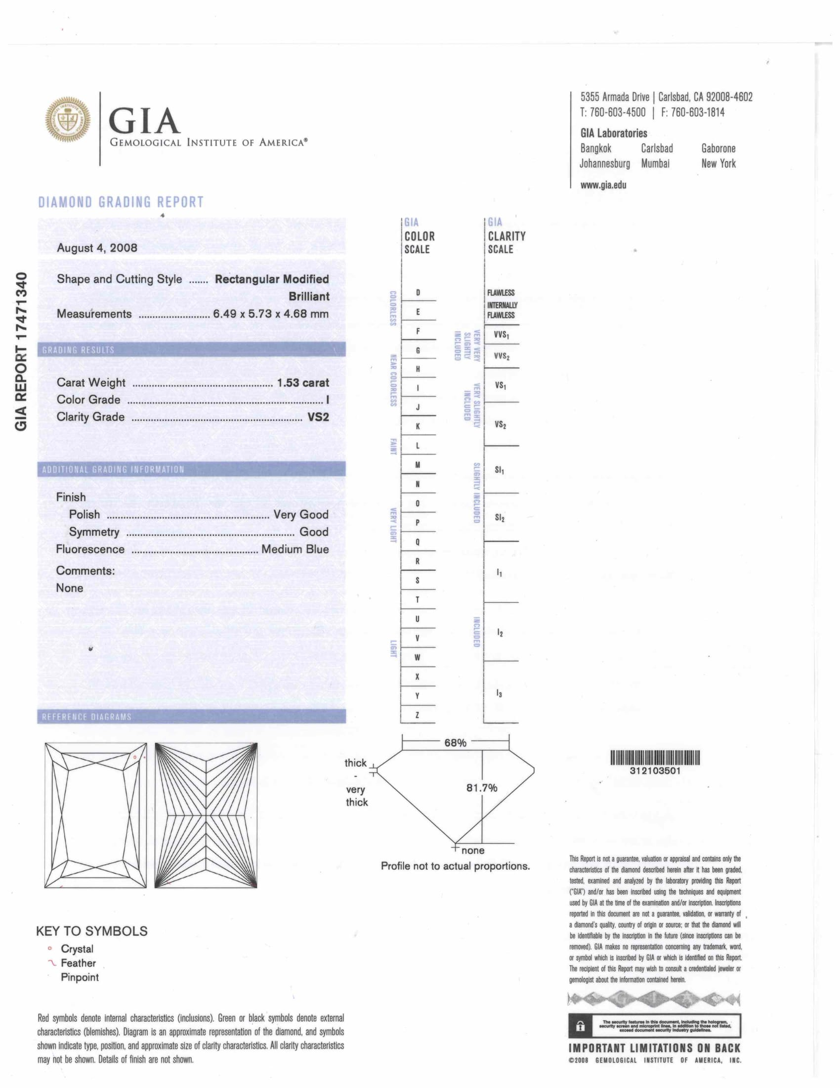 a facet diamond grading scale fund clarity gia