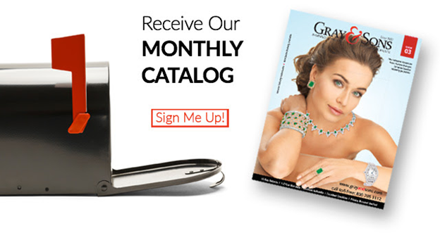 You are one step closer to receving our luxury catalog!