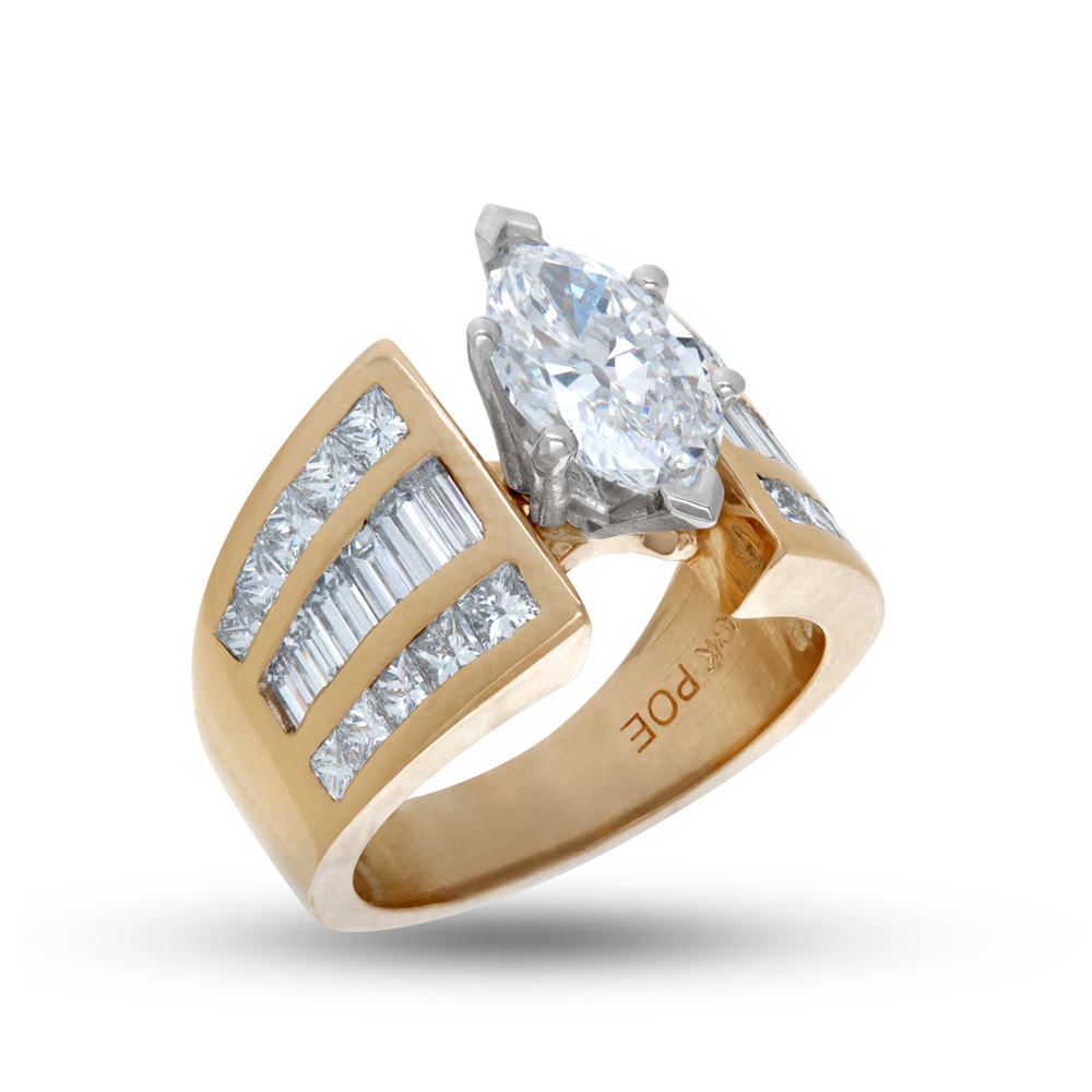 Consign your gold baguette or trade it in for a new diamond ring