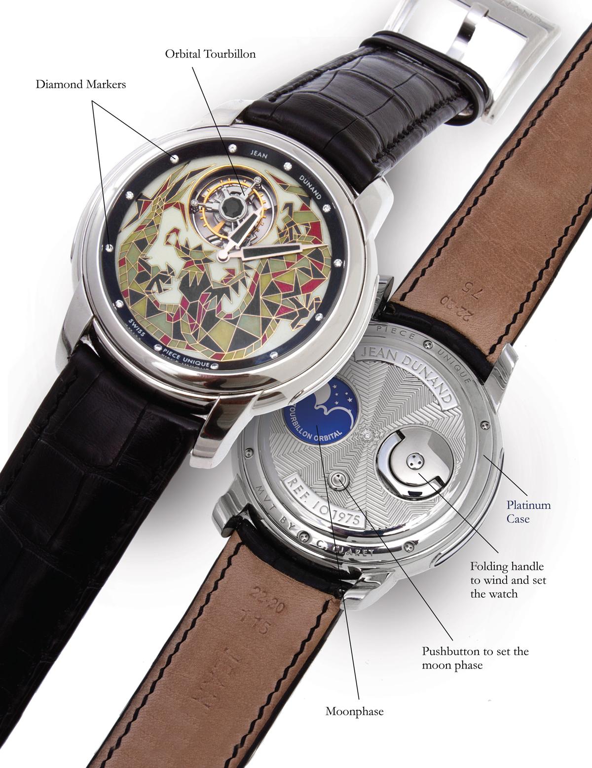 Jean Dunand Orbital Tourbillon-watch