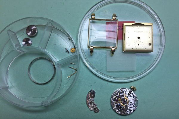 Vintage Patek watch repair