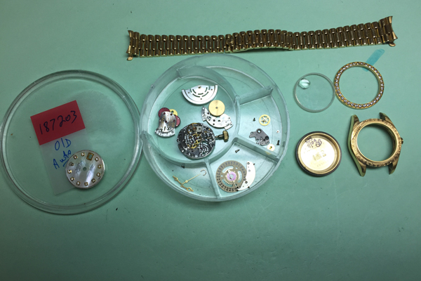 Vintage Rolex watch repair