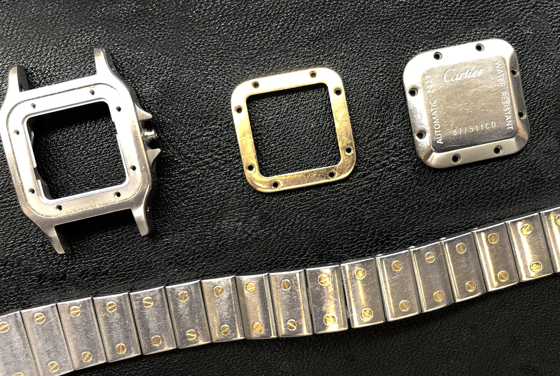 Cartier Santos Watch Repair