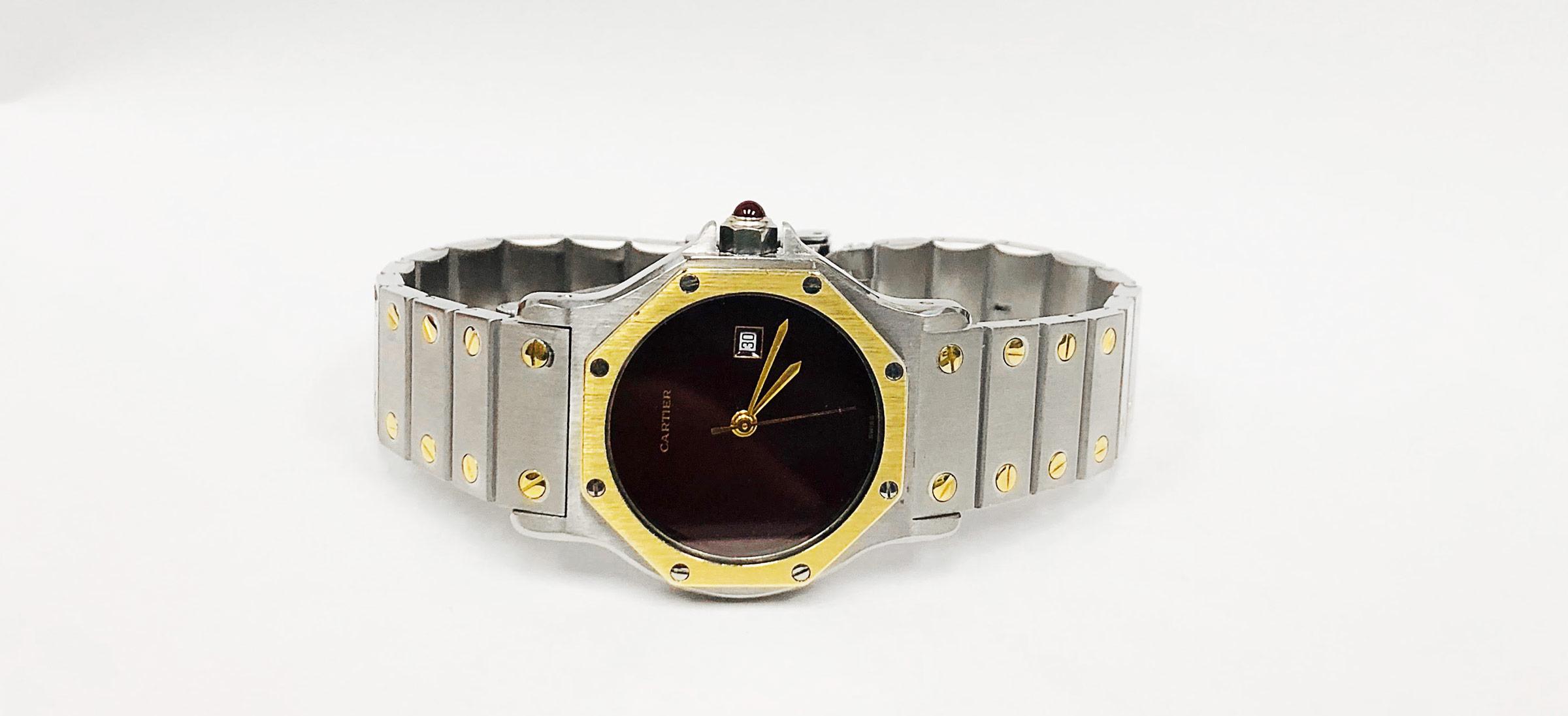 Cartier Santos Ronde Octagon Watch Repair