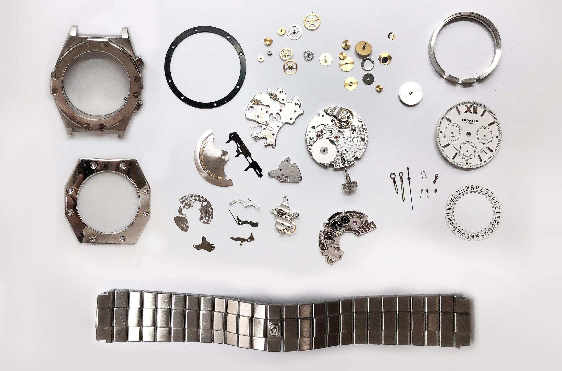 Chopard St. Moritz Chronograph Watch Repair