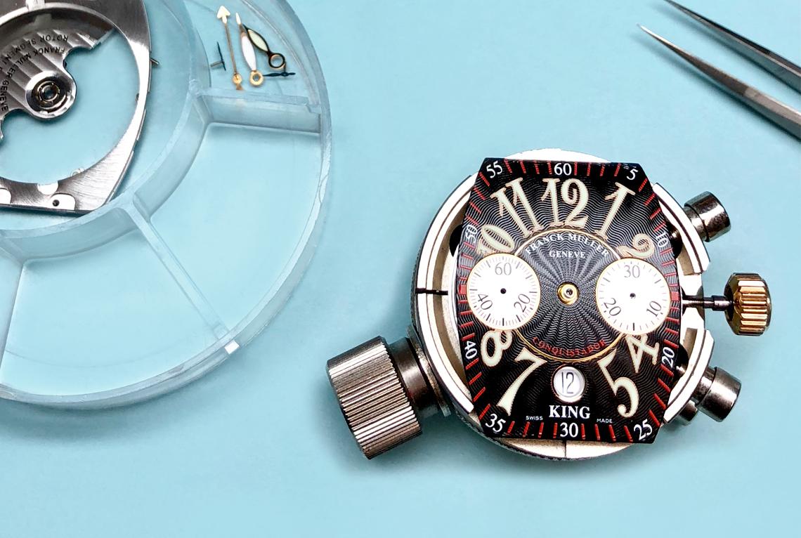 Franck Muller King Conquistador Chronograph Watch Repair