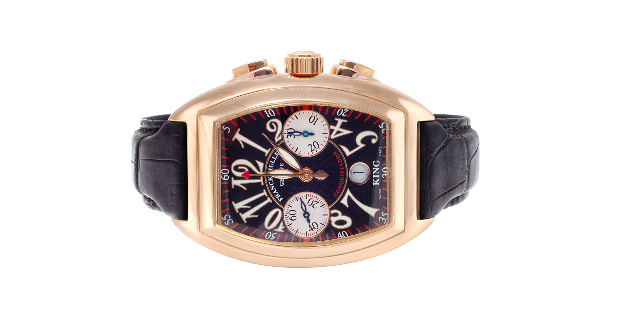 Franck Muller King Conquistador Chronograph Watch Repair