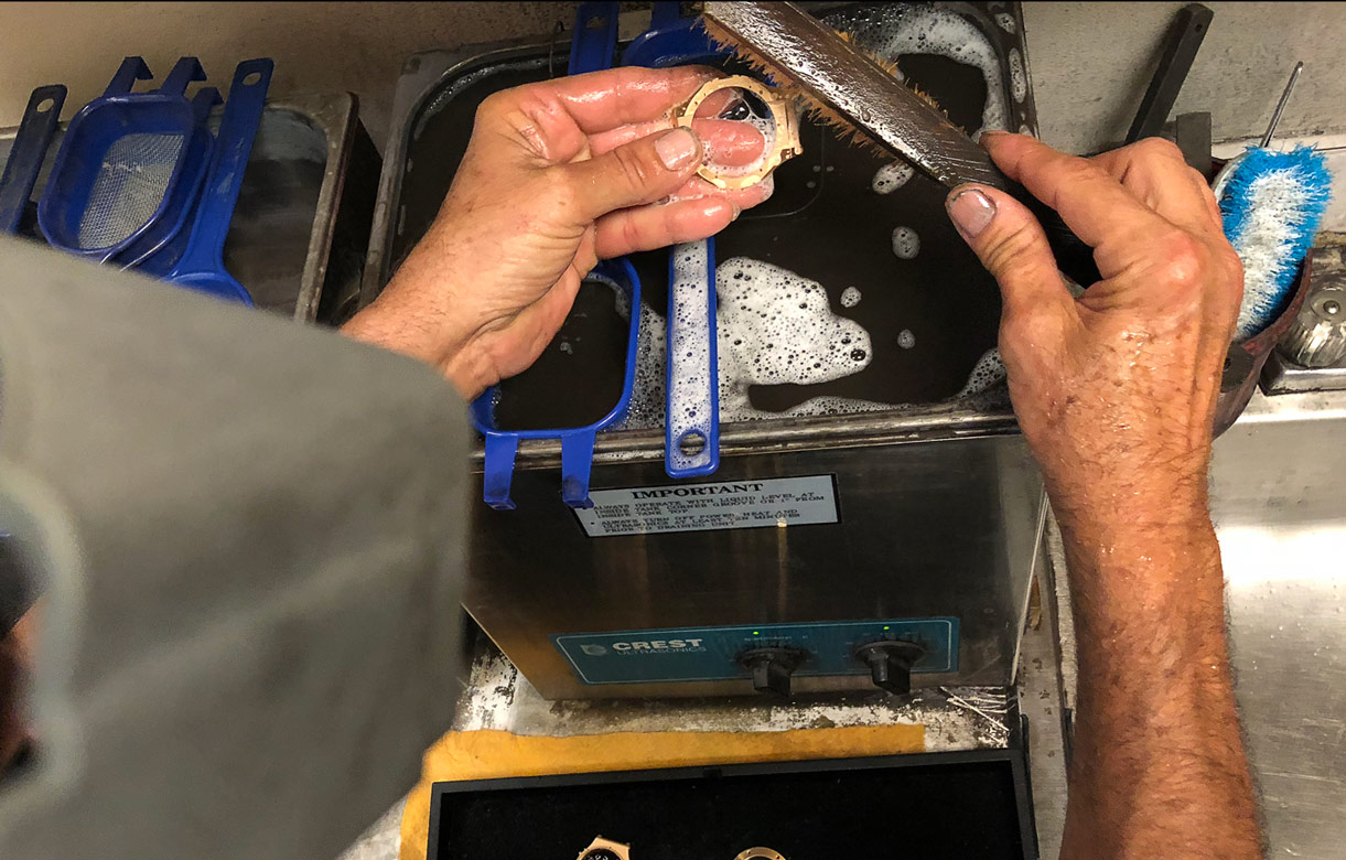 Hublot Big Bang Chronograph Watch Repair