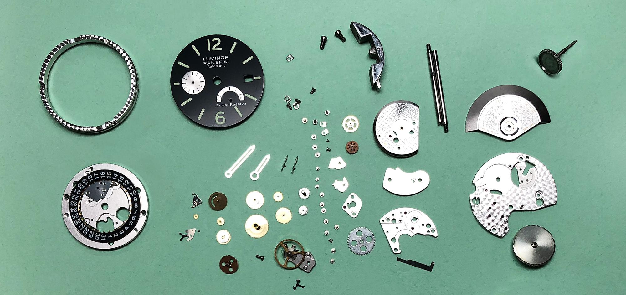 Panerai Luminor Marina 40mm Watch Repair