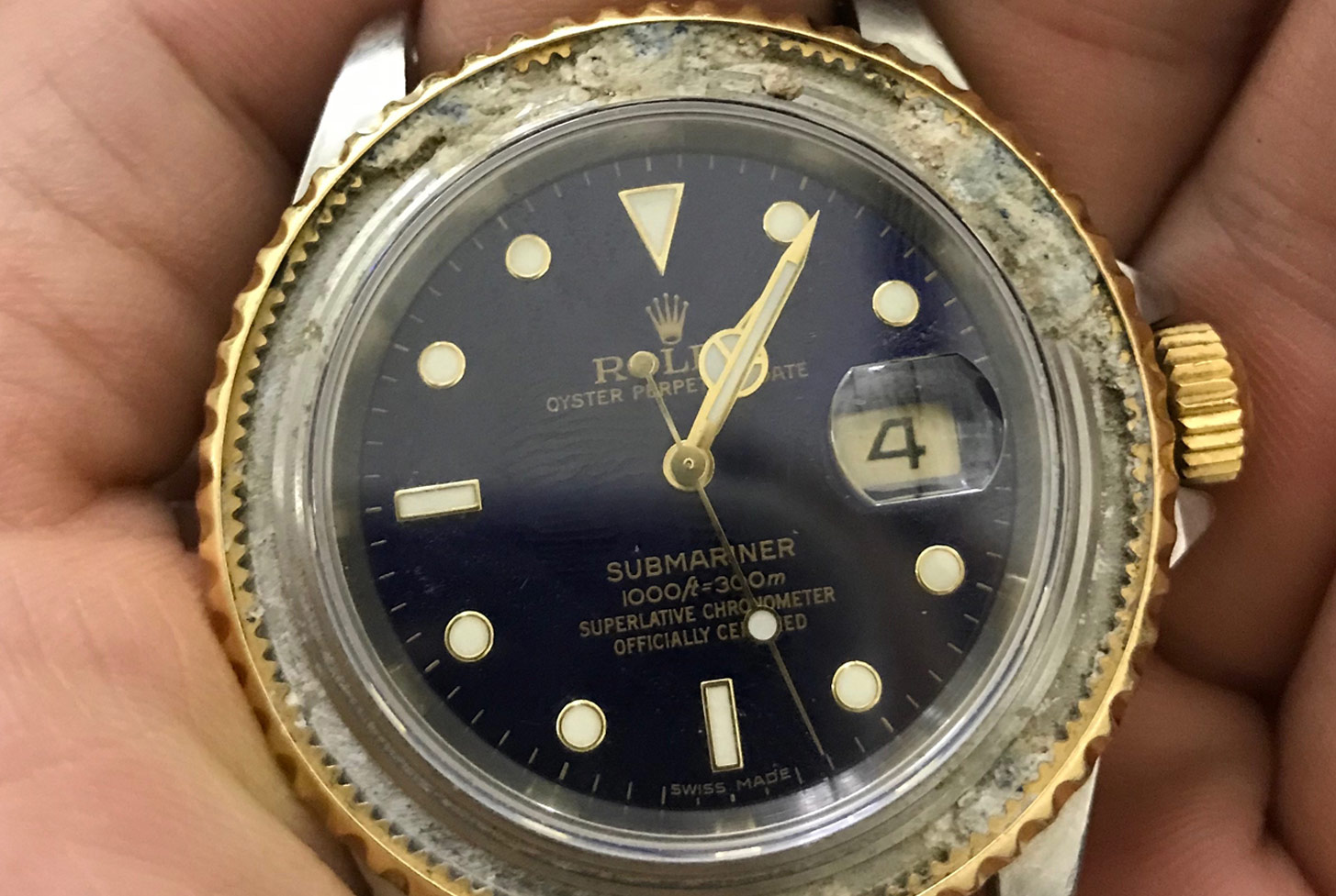 Rolex Submariner watch repair